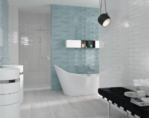 Clearstile_Decorative_Style_Bathroom_Tiles_with bathtub_wooden_flooring