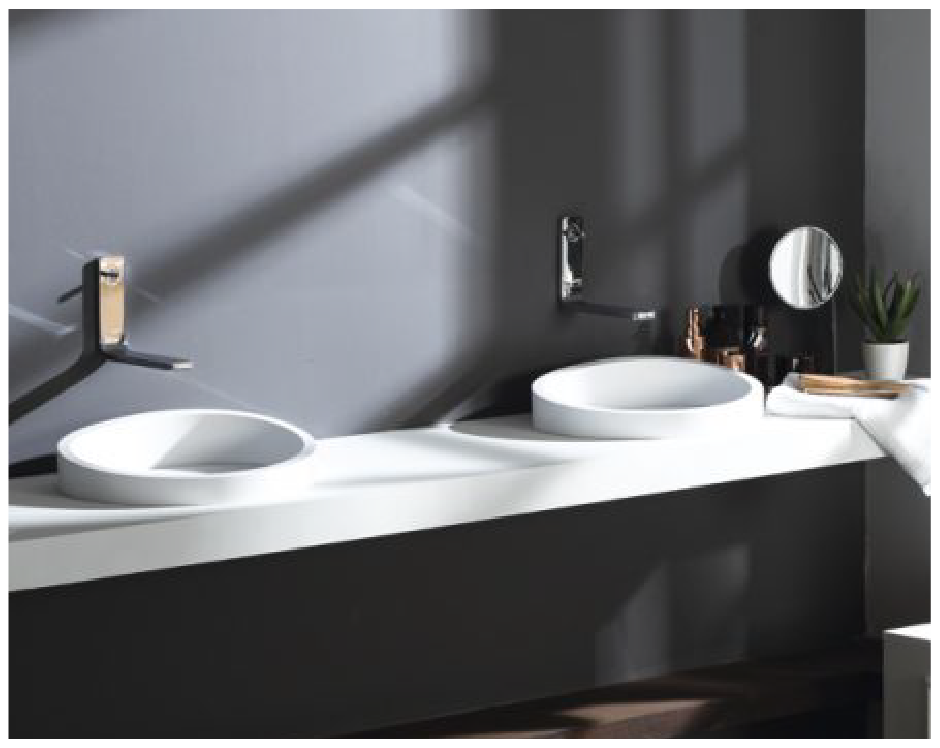 Clearstile_double_basin_unit_for_his_and_her_Installation_by_Cleary_bathroom_Design