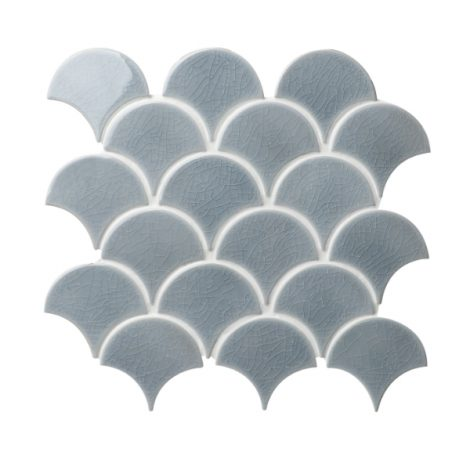 scallop tile, fish scale tile from clearstile newbridge